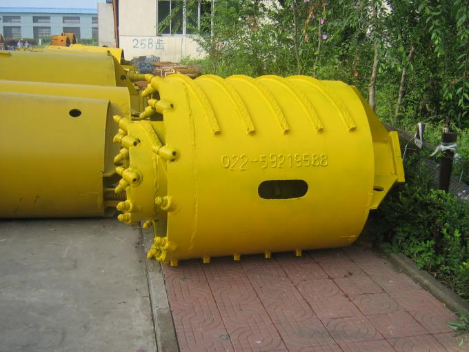 Rotary Drilling Tools Double Walled Bore Barrel , Rock Drilling Rig Steel Drilling Tools Drilling Augers Buckets