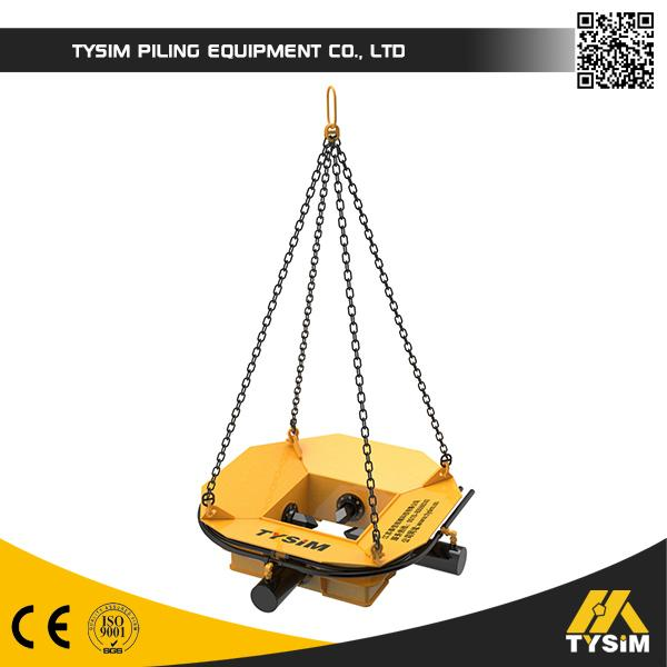 Excavator Hydraulic Pile Breaker With 3 Times Special Heat Treatment Drill Rod for Square Concrete Pile