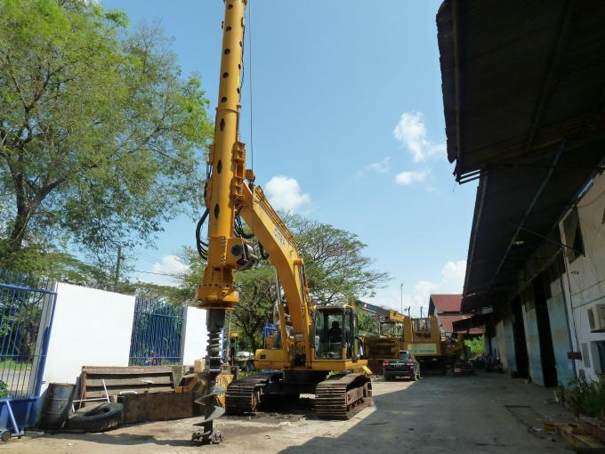 TYSIM KR50A Small Rotary Piling Rig Drilling Rig Attachment  for Foundation Construction