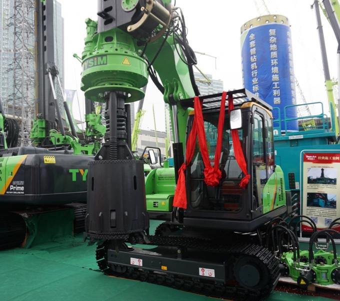 10 m / 12m Max drilling depth CE Small Rotary Driling Rig / Innovativly Research  Machine TYSIM KR40A