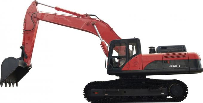 Professional Hydraulic Crawler Excavator , TYSIM CE420-7 Electric Powered Excavators