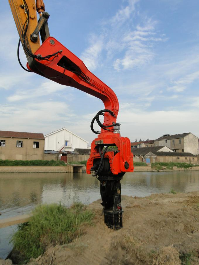 TYSIM VS400 Excavator Mounted Pile Driver / Pile Driving Hammer 2.15t