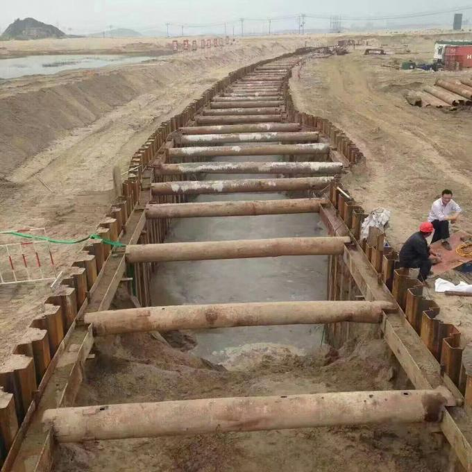 22T Excavator Mounted Sheet Pile Driver , Hydraulic Pile Driver For Excavators