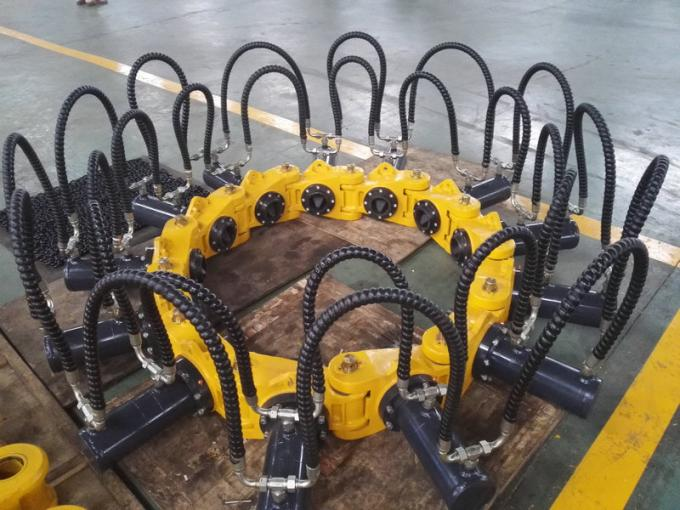 Advanced Hydraulic Pile Breaker / Cutter , Pile Breaking Machine For Round Concret Piles