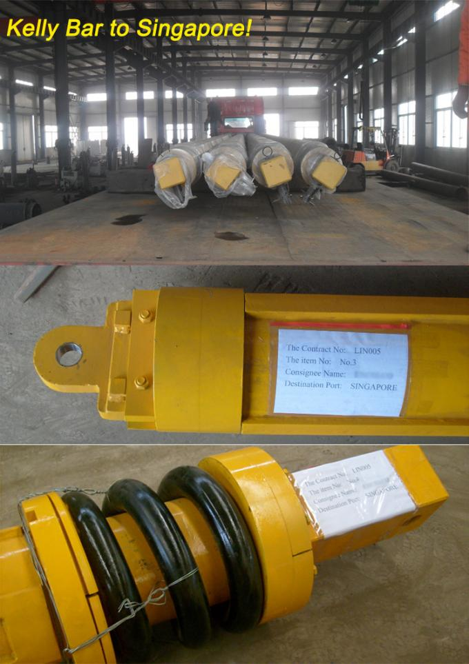 Engineering and Construction Machinery parts piling machine friction kelly bar