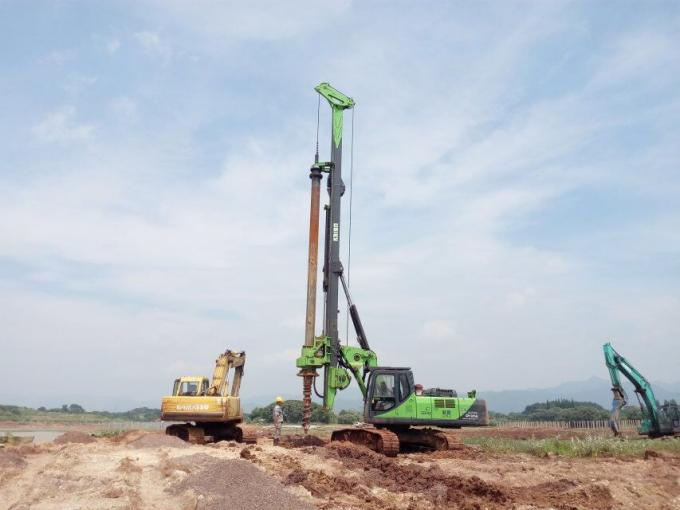 KR150C Rotary Borehole Drilling Machine , 1500mm Max Pile Diameter