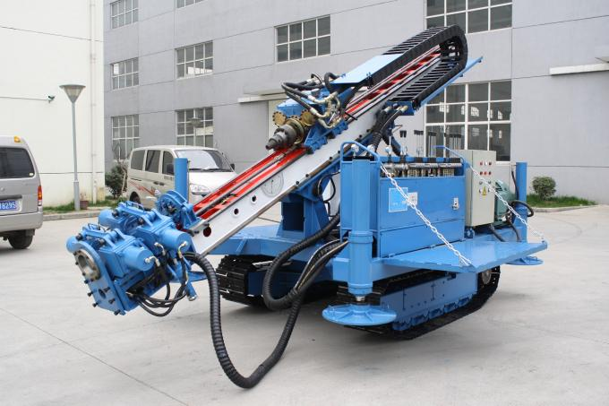Rotary Hydraulic Piling Rig equipment , 100 - 140m  depth bored pile drilling machine