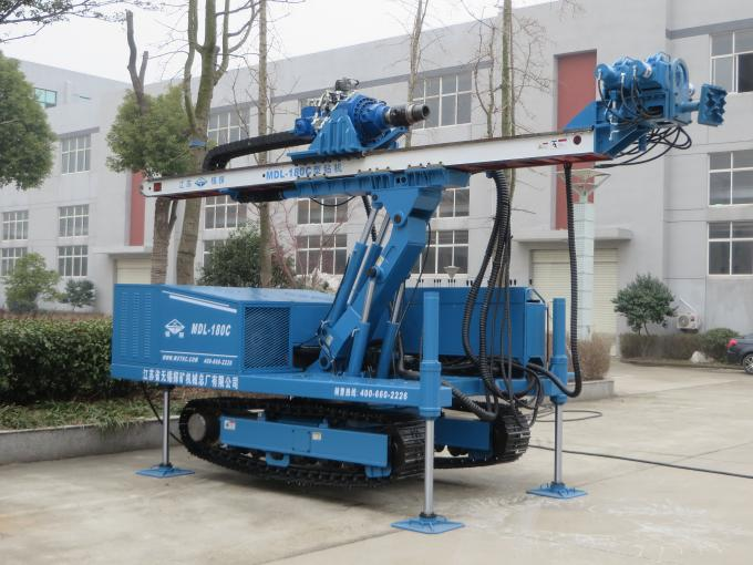 High Power Vibration Hydraulic Piling Rig Without DTH Hammer