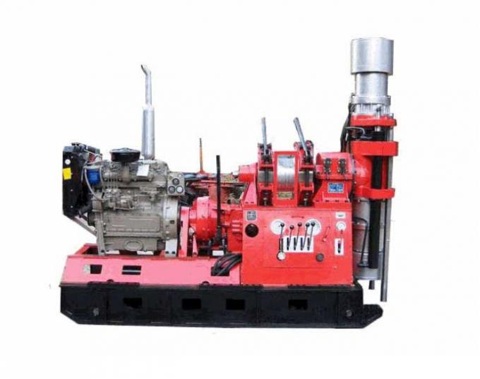 High Performace Hydraulic Piling Rig , Mechanical Rotary Drilling Rig