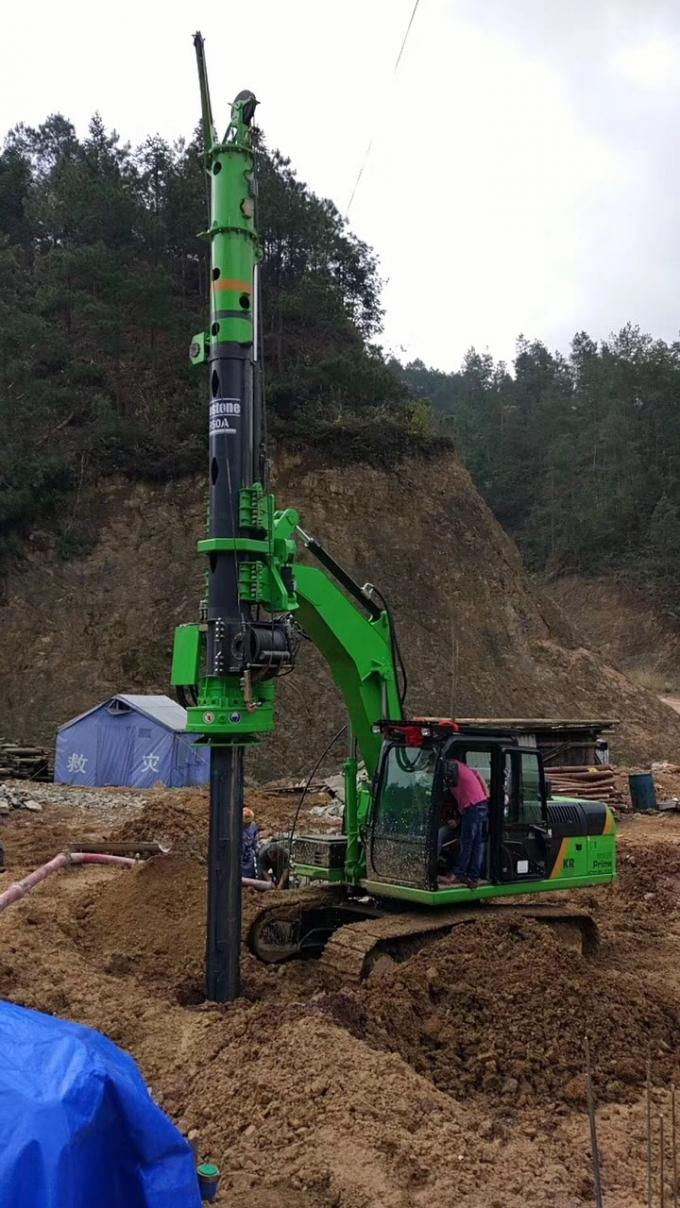 KR50C CAT Chassis Rotary Piling Rig / Energy Conservation Pile Boring Equipment Diameter 1200mm