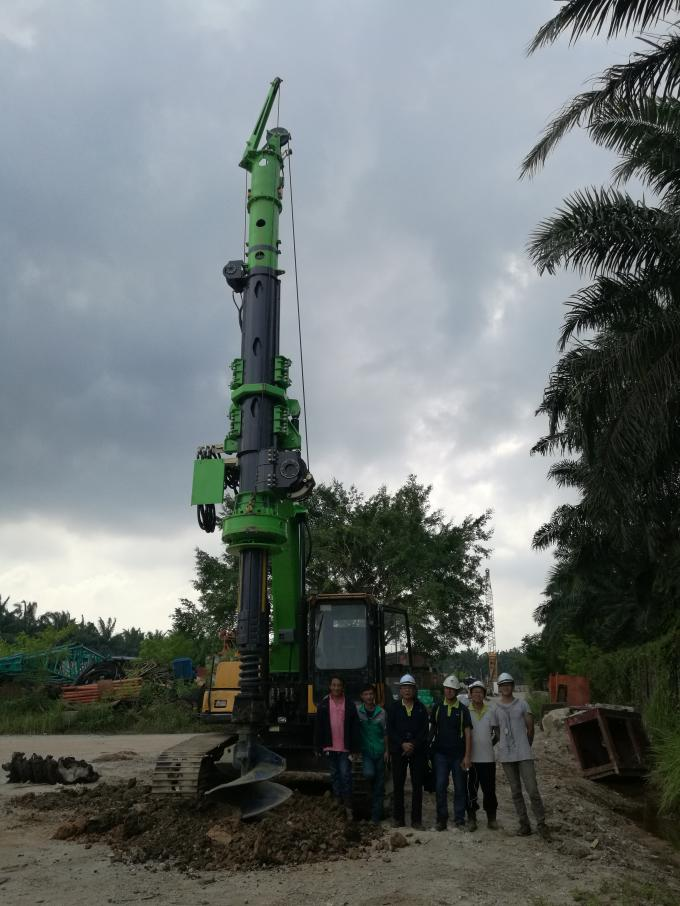 KR40A High Security Green Hydraulic Piling Rig 12m depth and 1200mm diameter