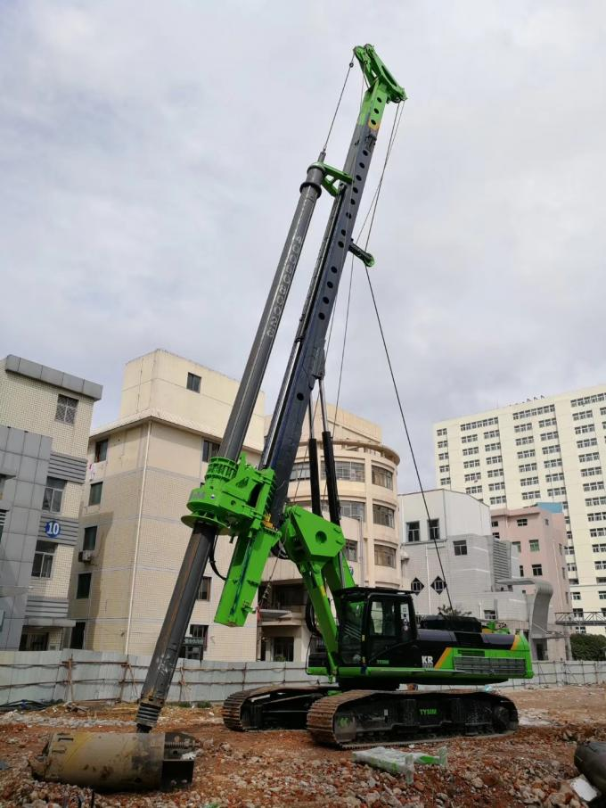 Hydraulic Piling Rig Machine Rotary Pile Drilling Machine 4300mm Operating Width