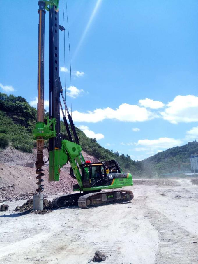 KR220C Small Pile Driving Equipment , Bored Pile Equipment Max Depth 64m