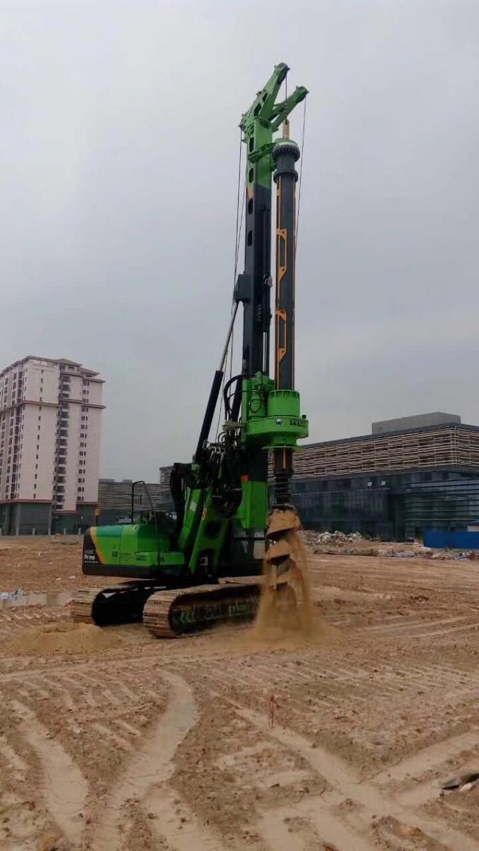 KR90M-Hydraulic CFA Piling Rig-Tysim Piling Equipment Co., Ltd