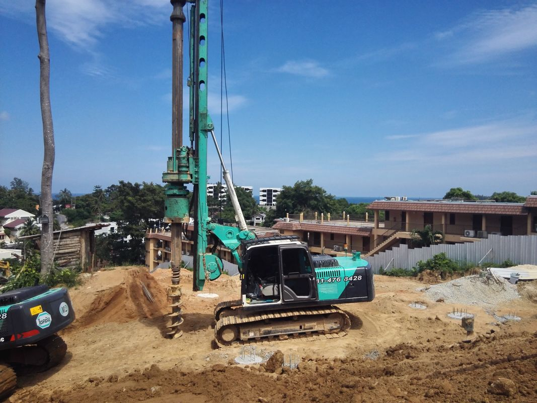 Hydraulic Rotary Bored Piling Drilling Machine With 1M Max
