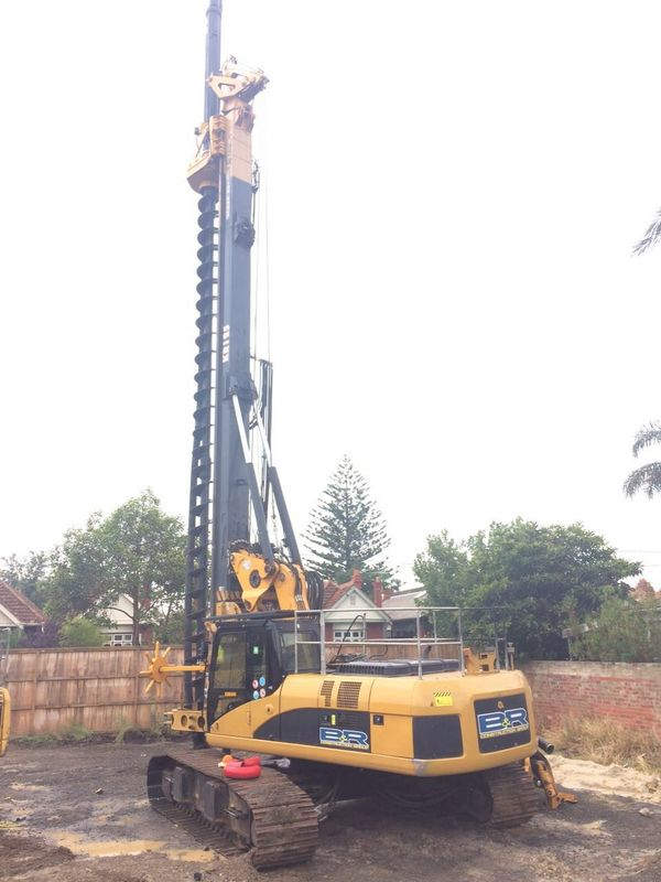 Crawler Rotary Piling Rig With ±5° Lateral Mast Inclination