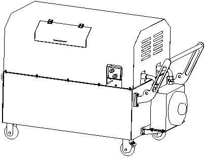 Electric Driven Hydraulic Power Unit 315 Bar High Pressure