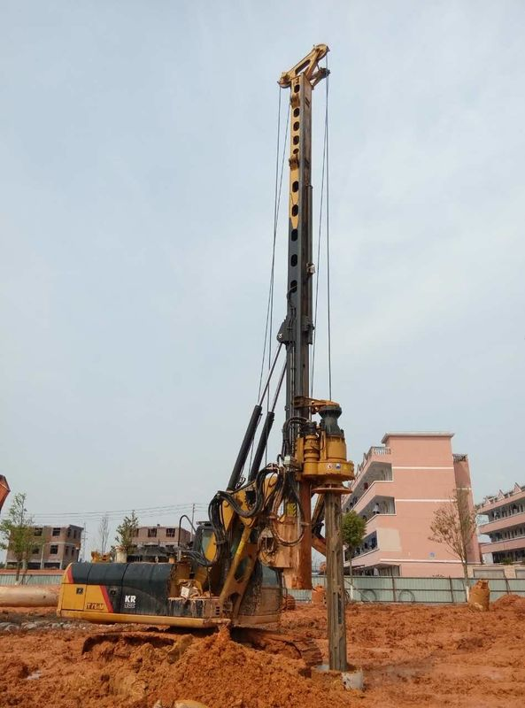 90 KN Max Crowd Pressure Foundation Hydraulic Piling Machine