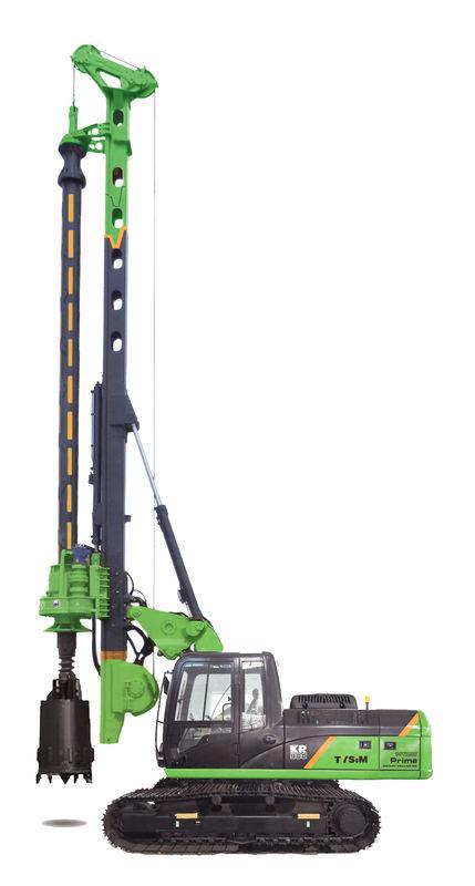 TYSIM KR80K Hydraulic Rotary Piling Rig Machine , Max
