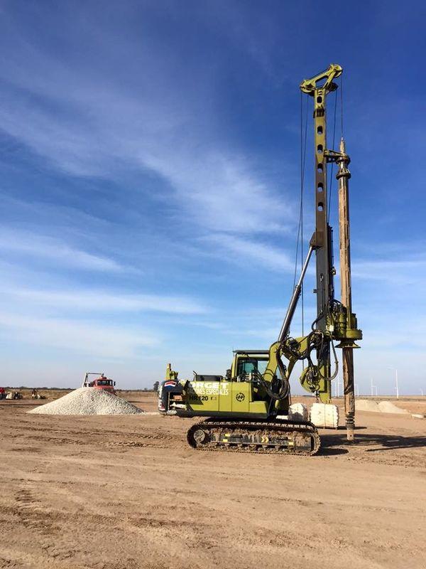 Torque 80 kN.m KR80A Drilling depth 28m(4 node )/22m(3