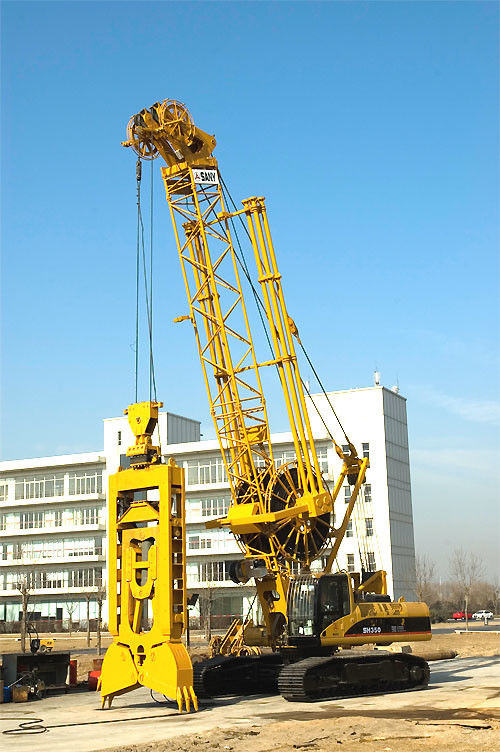 3.5m Grooving Length KH400 Mechanical Diaphragm Wall Grab Structure ...