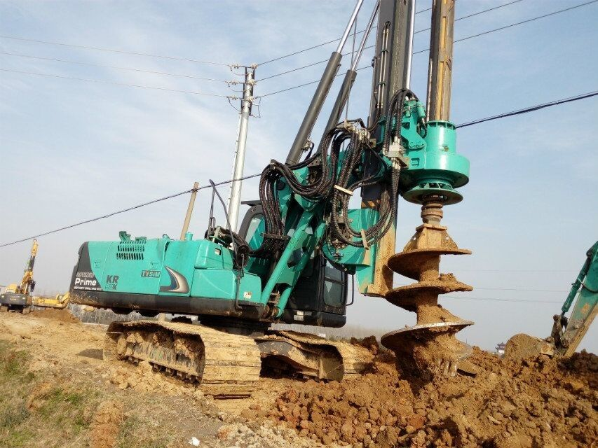 Performance Foundation Piling Rig / Rotary Drilling Rig