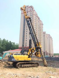 China Rotary Piling Rig For 28 m Drilling Depth 1m Dia Bored Pile Foundation 24 Ton Weight factory