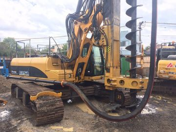 150 kN.m Torque Bored Pile Equipment , CFA Anchoring Rotary Bored Piling Machinery KR150M