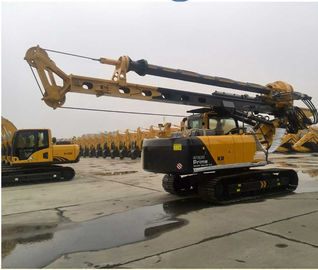 China Well Hydraulic Rotary Bored Piling Drilling Rig Machine With 8~30 Rpm Rotation Speed factory