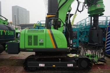 7 - 40 rpm Borehole Drilling Machine 30 m / min Main winch line speed KR50A Rotary Piling Rig