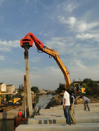 China TYSIM VS400 Excavator Mounted Pile Driver / Pile Driving Hammer 2.15t factory