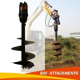 KA6000 Digging Hole Machine hydraulic earth drill For Excavator Used