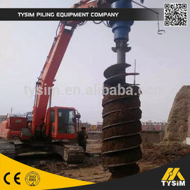 Construction Tooling Hydraulic Auger Drill KA6000 Top Drilling Hole Equipment Part