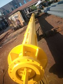 Construction Friction Or Interlocking Type Kelly Bar Drilling Tools , Rotary Piling Rig Parts