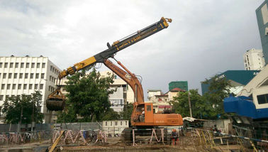 China High Stablity Construction Machine Parts Excavator Telescopic Arm factory