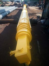 Yellow Foundation Drilling Tools , Construction Friction Or Interlocking Type Kelly Bar Rotary Piling Rig Parts