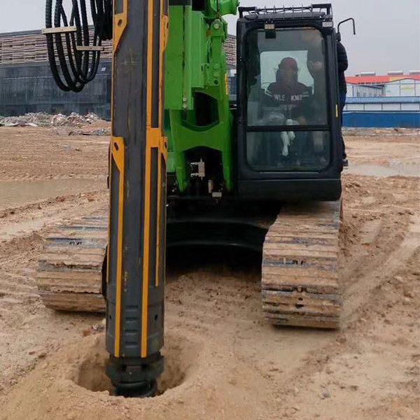 1000 mm Max drilling diameter Hydraulic Pile Driving Equipment Rental With CAT Chassis 0