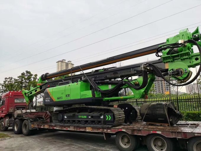 13m Depth Engineering Construction CFA Piling Rig With